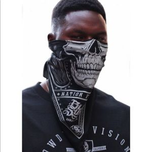 Black Sunday Oakland Raiders Skull Cap Mask